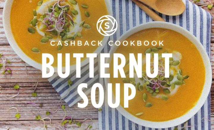 Cashback butternut soup