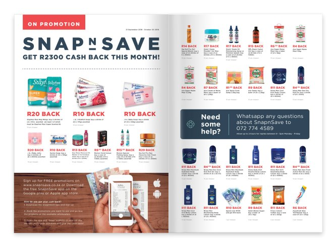 SnapnSave- Wholesale Channel Broadsheet - Sept '18